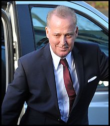 Michael Barrymore arrives at Ealing Magistrates Court, The entertainer has been charged with possession of cocaine and being drunk and disorderly following an early morning car crash last month. Barrymore, 59, was held at 4.30am on November 22 after a Citroen DS3 hit a kerb in Acton, west London. He was charged under the name Michael Parker. Ealing Magistrates' Court,London, Wednesday December 7, 2011. Photo By Andrew Parsons/ i-Images