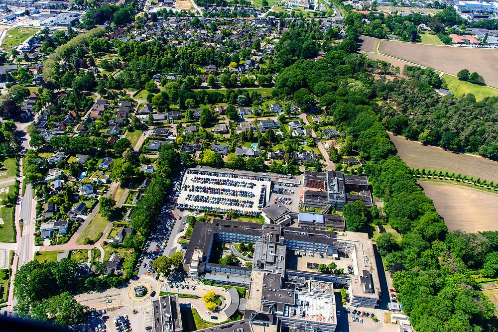 Nederland, Gelderland, Achterhoek, 29-05-2019; Doetinchem, Slingeland Ziekenhuis.<br /> Overview hospital Doetinchem.<br /> <br /> luchtfoto (toeslag op standard tarieven);<br /> aerial photo (additional fee required);<br /> copyright foto/photo Siebe Swart