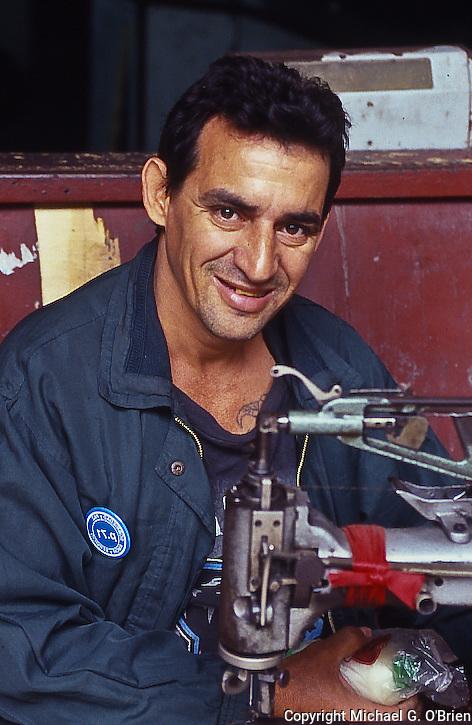 Working Hard in Havana, Cuba