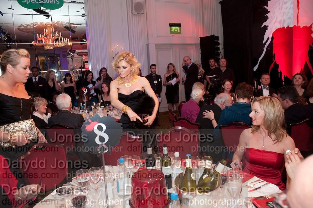KATE HALFPENNY; EMILIA FOX; , Specsavers Crime Thriller Awards.  Award ceremony celebrating the best in crime fiction and television. <br /> Grosvenor House Hotel, Park Lane, London. 21 October 2009