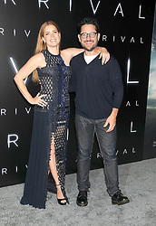 November 6, 2016 - Los Angeles, California, United States - November 6th 2016 - Los Angeles California USA -  Actress   AMY ADAMS, Actor JJ ABRAMS at the 2016 ''Arrivals'' Premiere  held at the Regency Village Theater, Westwood  Los Angeles, CA (Credit Image: © Paul Fenton via ZUMA Wire)