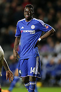 Bertrand Traore of Chelsea looks on. The Emirates FA cup, 4th round match, MK Dons v Chelsea at the Stadium MK in Milton Keynes on Sunday 31st January 2016.<br /> pic by John Patrick Fletcher, Andrew Orchard sports photography.