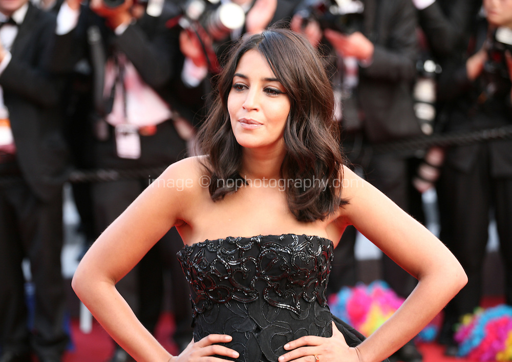 Actress, Leila Bekhti at the gala screening Madagascar 3: Europe's Most Wanted at the 65th Cannes Film Festival. On Friday 18th May 2012 in Cannes Film Festival, France.