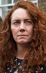 ** File pics - Rebekah Brooks return to News UK** © London News Pictures. 26/06/2014. London, UK. Former CEO of News International, REBEKAH BROOKS and her husband CHARLIE BROOKS read a statement to the media on the doorstep of their London home following their acquittal in the phone hacking trial earlier this week..  Photo credit : Ben Cawthra/LNP