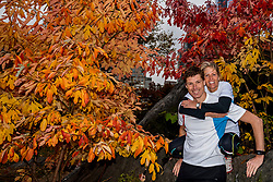 03-11-2018 USA: NYC Marathon We Run 2 Change Diabetes day 2, New York<br /> day before the marathon the usual photo shoot in Central Park / Bas, Nicole