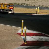 13-15, July 2006, Salt Lake City, Utah, USA.<br /> Bernhard/Dumas Porsche RS Spyder.<br /> ©Phillip Abbott/USA<br /> LAT Photographic