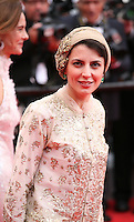 Leila Hatami at the the Grace of Monaco gala screening and opening ceremony red carpet at the 67th Cannes Film Festival France. Wednesday 14th May 2014 in Cannes Film Festival, France.