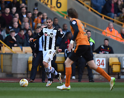 Watford's Adlene Guedioura in action during the Sky Bet Championship match between Wolverhampton Wanderers and Watford at Molineux Stadium on 7 March 2015 in Wolverhampton, England - Photo mandatory by-line: Paul Knight/JMP - Mobile: 07966 386802 - 07/03/2015 - SPORT - Football - Wolverhampton - Molineux Stadium - Wolverhampton Wanderers v Watford - Sky Bet Championship