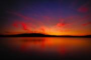 Sunset on Harveys Lake, by Darren Elias