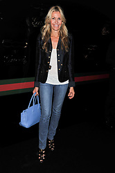 MELISSA ODABASH at a party to launch the Gucci designed Fiat 500 customized by Gucci Creative Director Frida Giannini in collaboration with FIAT's Centro Stile, held at Fiat, 105 Wigmore Street, London on 27th June 2011.