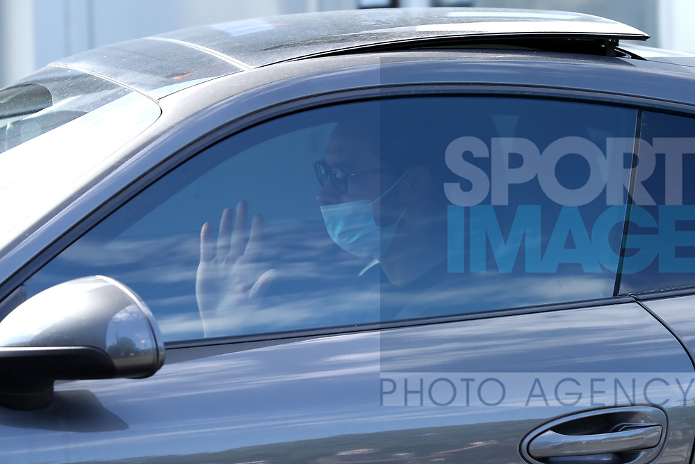Juventus's Italian defender Mattia De Sciglio arrives for training as part of Serie A restart at the Juventus Training Centre, Turin. Picture date: 20th May 2020. Picture credit should read: Jonathan Moscrop/Sportimage