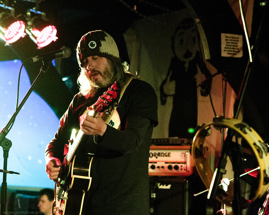 Badly Drawn Boy  performing live at FrankFest, Jabez Clegg, Manchester, 2012-03-31