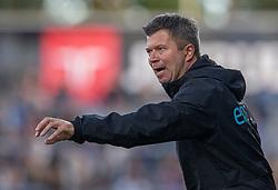 Cheftræner Christian Nielsen (Lyngby Boldklub) under kampen i 3F Superligaen mellem Lyngby Boldklub og Hobro IK den 20. juli 2020 på Lyngby Stadion (Foto: Claus Birch).