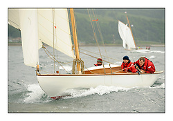 Day two of the Fife Regatta,Passage race to Rothesay.<br /> Rainbow, Mark Butler, GBR, Gaff Sloop, 1896<br /> <br /> * The William Fife designed Yachts return to the birthplace of these historic yachts, the Scotland's pre-eminent yacht designer and builder for the 4th Fife Regatta on the Clyde 28th June–5th July 2013<br /> <br /> More information is available on the website: www.fiferegatta.com
