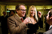 VIC REEVES; NANCY SORRELL, South Bank Show Awards, Dorchester Hotel, Park Lane. London. 20 January 2009