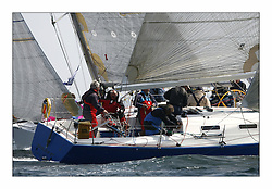 Bell Lawrie Scottish Series 2008. Fine North Easterly winds brought perfect racing conditions in this years event..Chris Bonar at the helm of GBR 9369R Bataleur 97 in Class 2