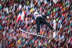 01.01.2018, Olympiaschanze, Garmisch Partenkirchen, GER, FIS Weltcup Ski Sprung, Vierschanzentournee, Garmisch Partenkirchen, Wertungsdurchgang, im Bild Daniel Andre Tande (NOR) // Daniel Andre Tande of Norway during the Competition Jump for the Four Hills Tournament of FIS Ski Jumping World Cup at the Olympiaschanze in Garmisch Partenkirchen, Germany on 2018/01/01. EXPA Pictures © 2018, PhotoCredit: EXPA/ JFK