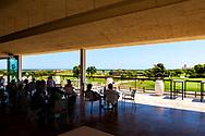25-07-2016 Foto's persreis Golfers Magazine met Pin High naar Alicante en Valencia in Spanje. <br /> Foto: El Saler - het enorme terras met uitzicht.