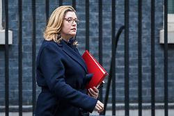 © Licensed to London News Pictures. 27/03/2018. London, UK. Secretary of State for International Development Penny Mordaunt on Downing Street after the weekly Cabinet meeting. Photo credit: Rob Pinney/LNP