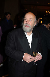 Restaurant critic ROY ACKERMAN at the Tatler Restaurant Awards in association with Champagne Louis Roederer held at the Four Seasons Hotel, Hamilton Place, London W1 on 10th January 2005.<br /><br /><br />NON EXCLUSIVE - WORLD RIGHTS