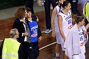 DESCRIZIONE : Lucca Nazionale Italia Femminile Qualificazione Europeo Femminile Italia Albania Italy Albania<br /> GIOCATORE : Sandra Palombarini Alice Sabatini<br /> CATEGORIA : postgame vip<br /> SQUADRA : Italia Italy<br /> EVENTO : Qualificazione Europeo Femminile<br /> GARA : Italia Albania Italy Albania<br /> DATA : 21/11/2015 <br /> SPORT : Pallacanestro<br /> AUTORE : Agenzia Ciamillo-Castoria/Max.Ceretti<br /> Galleria : FIP Nazionali 2015<br /> Fotonotizia : Lucca Nazionale Italia Femminile Qualificazione Europeo Femminile Italia Albania Italy Albania