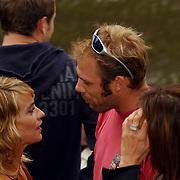 NLD/Amsterdam/20050808 - Deelnemers Sterrenslag 2005, Fleur van der Kieft en bart Spring in 't Veld