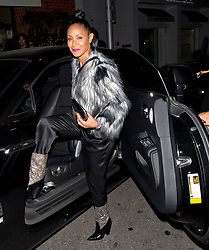 EXCLUSIVE: Jada Pinkett Smith, Tamar Braxton and Toni Braxton along with other friends and family celebrate Toni Braxton's 50th Birthday at Mr. Chow Restaurant in Beverly Hills, CA. 08 Oct 2017 Pictured: Jada Pinkett Smith. Photo credit: MEGA TheMegaAgency.com +1 888 505 6342
