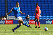 Cardiff City's Curtis Nelson (16) in action during the EFL Sky Bet Championship match between Cardiff City and Nottingham Forest at the Cardiff City Stadium, Cardiff, Wales on 2 April 2021.