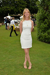 ELIZA SANGSTER at the Goffs London Sale held at The Orangery, Kensington Palace, London on 12th June 2016.