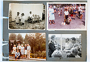 family photo album page Holland ca 1950s