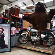 Props are stored in a warehouse facility owned by the English National Opera in London, Britain, 11 October 2017.  English National Opera (ENO) is an opera company based in London. It is one of the two principal opera companies in London. English National Opera traces its roots back to 1931 when Lilian Baylis established the Sadler's Wells Opera Company at the newly re-opened the Sadler's Wells Theatre. Baylis had been presenting opera concerts and theatre in London since 1898 and was passionate about providing audiences with the best theatre and opera at affordable prices. ENO became the first British opera company to tour the United States, and the first major foreign opera company to tour what was then the Soviet Union.EPA-EFE/NEIL HALL