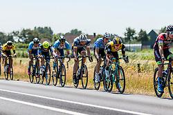 Peloton with Koen Bouwman of Team LottoNL-Jumbo at 2018 National Road Race Championships Netherlands for Men Elite, Hoogerheide, The Netherlands, 1 July 2018. Photo by Pim Nijland / PelotonPhotos.com   All photos usage must carry mandatory copyright credit (Peloton Photos   Pim Nijland)