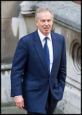 Tony Blair At Levenson Inquiry