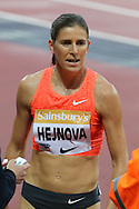 Zuzana Hejnova during the Sainsbury's Anniversary Games at the Queen Elizabeth II Olympic Park, London, United Kingdom on 24 July 2015. Photo by Ellie Hoad.