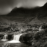 Faerie pools and the Cuillin, Glen brittle, Isle of Skye