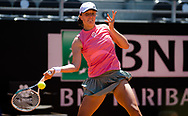 Iga Swiatek of Poland in action during the first round of the 2021 Internazionali BNL d'Italia, WTA 1000 tennis tournament on May 10, 2021 at Foro Italico in Rome, Italy - Photo Rob Prange / Spain ProSportsImages / DPPI / ProSportsImages / DPPI