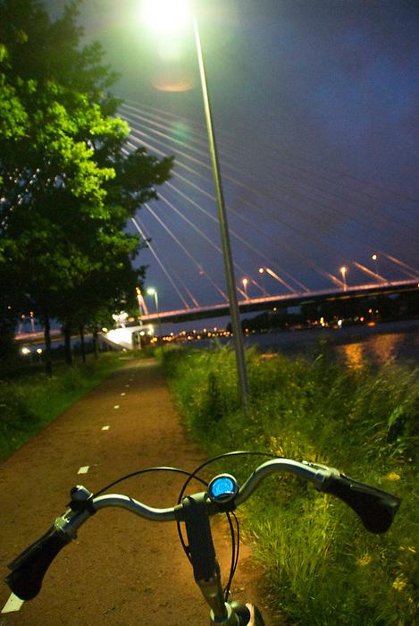 Utrecht 30 mei 2010.Openbare straatverlichting door led lampen..(c)renee teunis