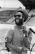 Big Youth at Sunsplash soundcheck Jamaica 1979