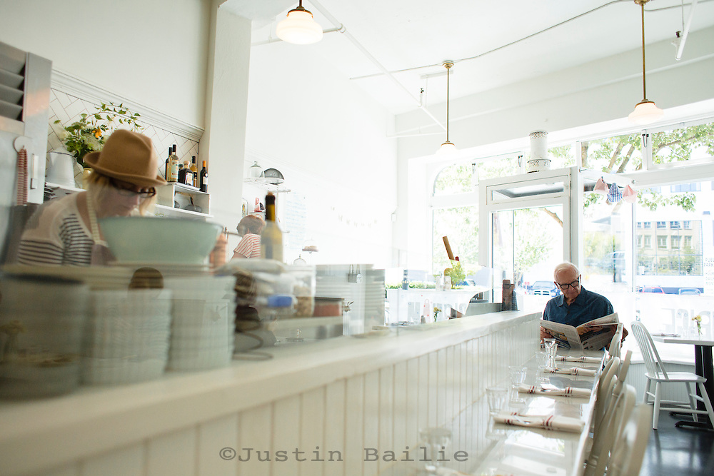Maurice (Pastry Luncheonette). Portland, Oregon