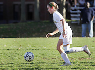 Beacon, New York - Sleepy Hollow High School plays Beacon High School in a Section One Class A girls' soccer playoff game on Oct. 28, 2010.