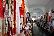 Fortaleza_CE, Brasil...Rendas e corredores do Centro de Turismo em Fortaleza, Ceara...Crafts and lobby of the Tourism  Center in Fortaleza, Ceara...Foto: BRUNO MAGALHAES / NITRO