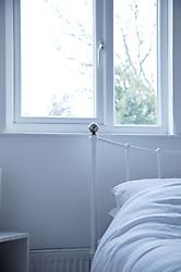 White empty bedroom