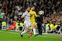 Real Madrid´s  and Villarreal CF´s  during 2014-15 La Liga match between Real Madrid and Villarreal CF at Santiago Bernabeu stadium in Madrid, Spain. March 01, 2015. (ALTERPHOTOS/Luis Fernandez)