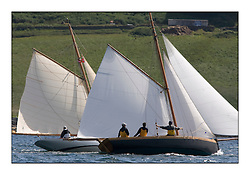 Oblio 2007 Gaff Cutter and Ayrshire Lass 1887 Gaff Cutter..Mixed and bright conditions for the fleet as they race from Kames to Largs...* The Fife Yachts are one of the world's most prestigious group of Classic .yachts and this will be the third private regatta following the success of the 98, .and 03 events.  .A pilgrimage to their birthplace of these historic yachts, the 'Stradivarius' of .sail, from Scotland's pre-eminent yacht designer and builder, William Fife III, .on the Clyde 20th -27th June.   . ..More information is available on the website: www.fiferegatta.com . .Press office contact: 01475 689100         Lynda Melvin or Paul Jeffes