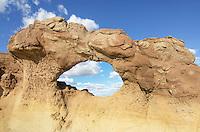 Bisti Arch, Bisti Badlands, Bisti/De-Na-Zin Wilderness, New Mexico