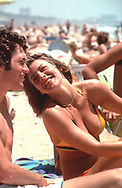 Beach Scene: Santa Monica in July 1984<br /> <br /> Photograph ny Dennis Brack. bb78