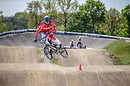#51 (WOHLK Andreas) DEN during practice of Round 3 at the 2018 UCI BMX Superscross World Cup in Papendal, The Netherlands