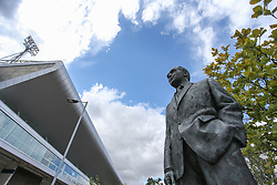 Statue of Stanley Mathews outside the stadium  - Mandatory by-line: Arron Gent/JMP - 05/09/2020 - FOOTBALL - Portman Road - Ipswich, England - Ipswich Town v Bristol Rovers - Carabao Cup