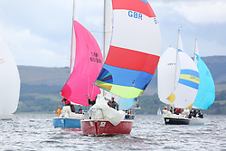 The Silvers Marine Scottish Series 2014, organised by the  Clyde Cruising Club,  celebrates it's 40th anniversary.<br /> Day 3, MIxed Fleet, Sonata, GBR8145N , Scruples , Chris Tait, Helensburgh SC<br /> Racing on Loch Fyne from 23rd-26th May 2014<br /> <br /> Credit : Marc Turner / PFM