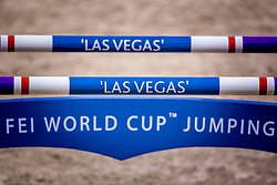 World Cup Fence <br /> Training session<br /> Longines FEI World Cup™ Jumping Finals <br /> Las Vegas 2015<br />  © Hippo Foto - Dirk Caremans<br /> 15/04/15